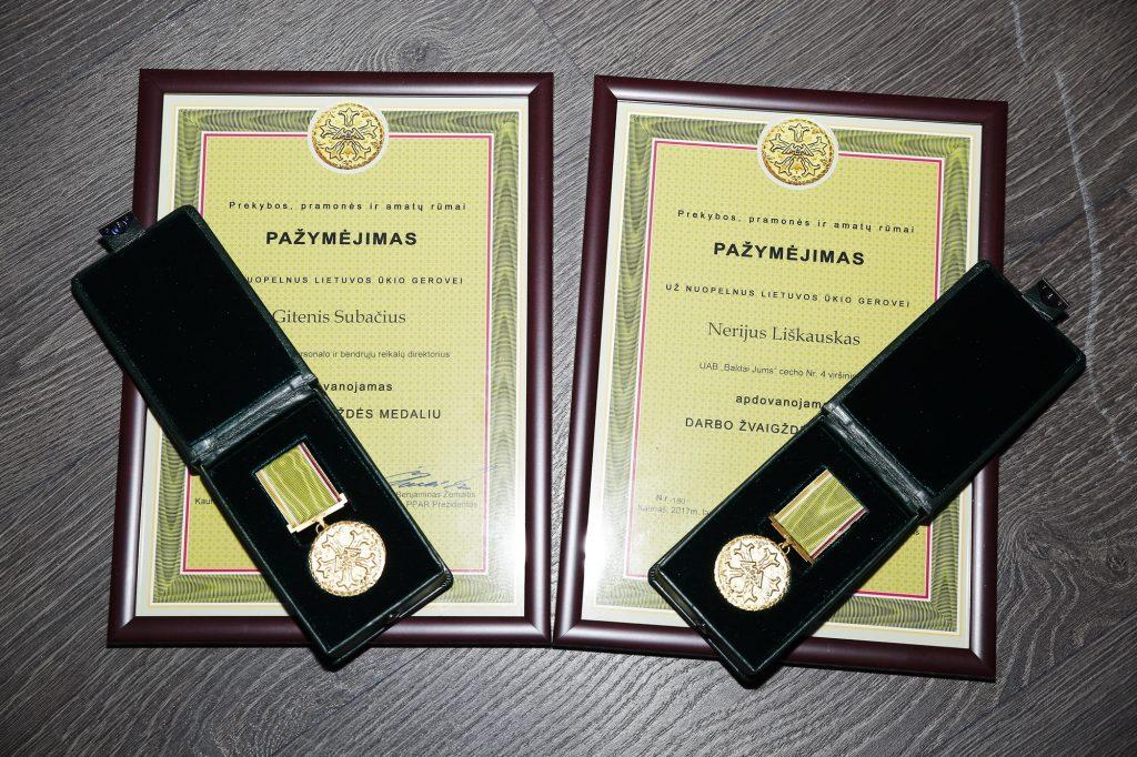 2017-ųjų metų apdovanojimai Jonavoje
