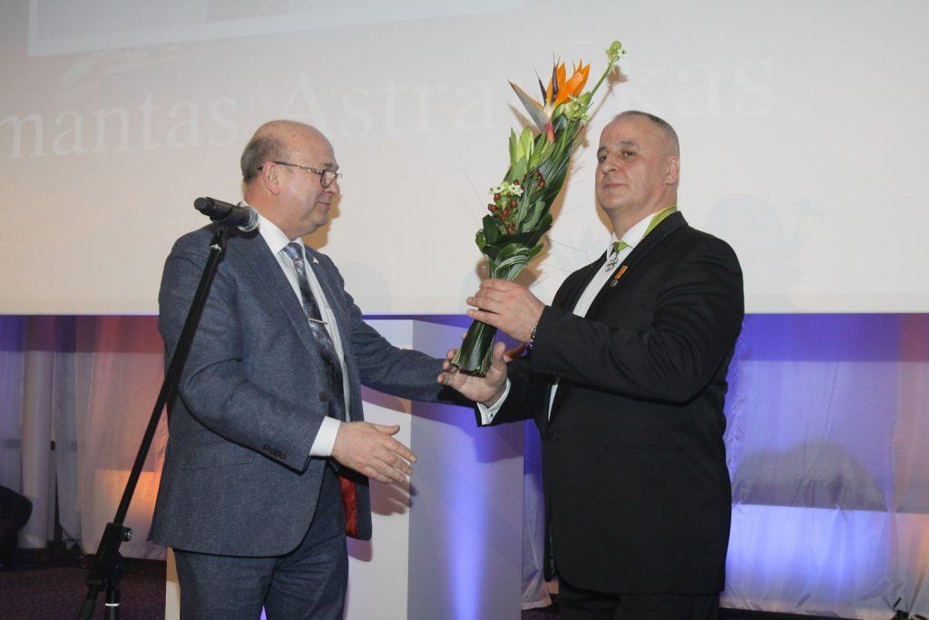 """Algimantui Astrauskui – """"Metų sėkmės"""" nominacija"""