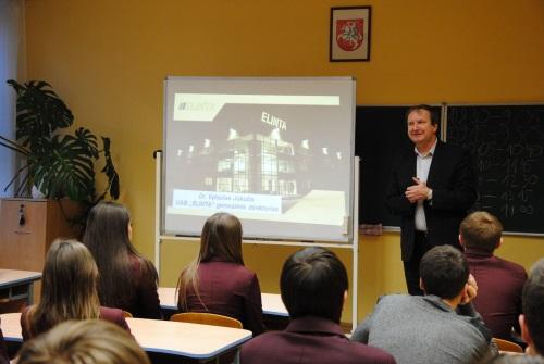 Antroji verslumo pamoka Kauno rajone