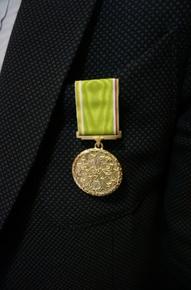 """Apdovanojimas –  """"Darbo žvaigždės medalis"""""""