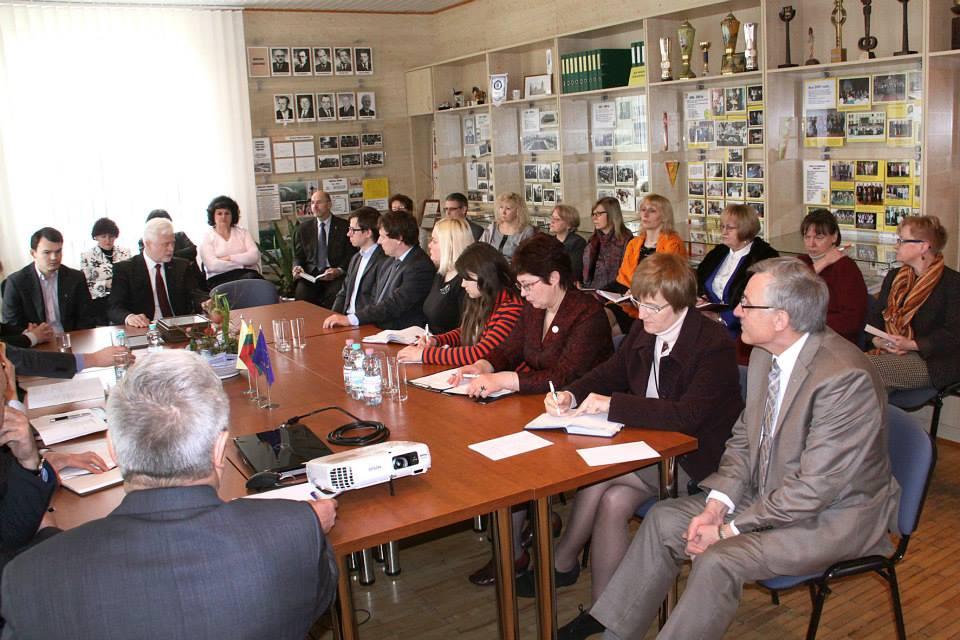 Apskritojo stalo diskusija su Marijampolės regiono verslininkais