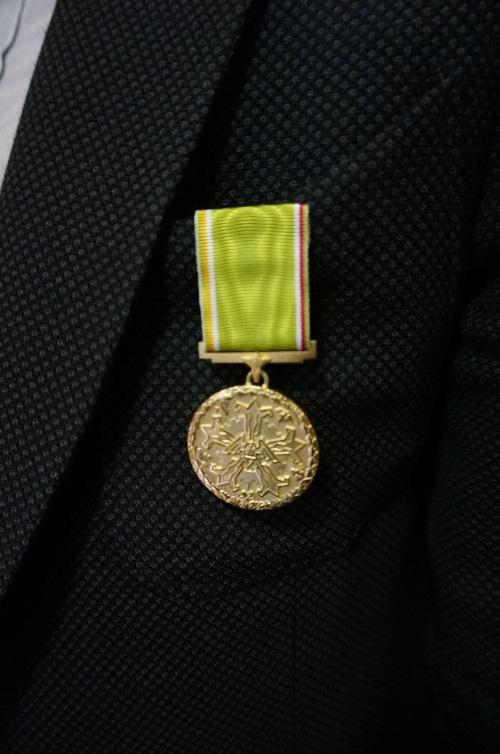 """Atkurtas istorinis """"Darbo žvaigždės medalis"""""""