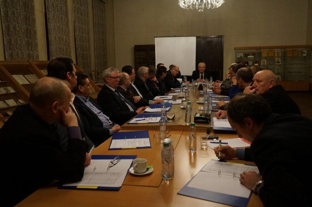 Balandžio mėnesio rūmų tarybos posėdis