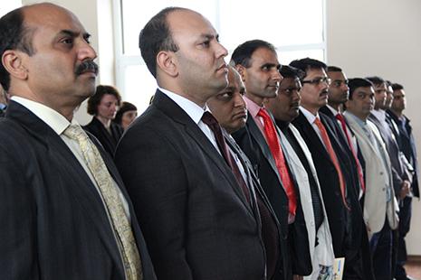 Delegacija iš Indijos