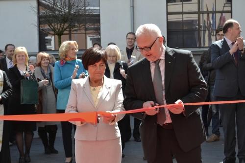 Duris atvėrė moderniausias Baltijos šalyse sektorinis praktinio mokymo centras