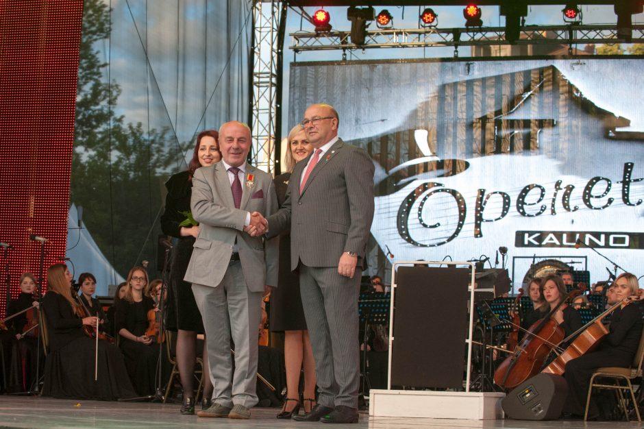 Eduardas Jasas apdovanotas Kauno miesto Santakos garbės ženklu