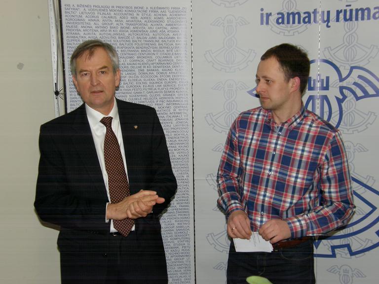 Eksportuotojų klube svečiavosi Norvegijos garbės konsulas