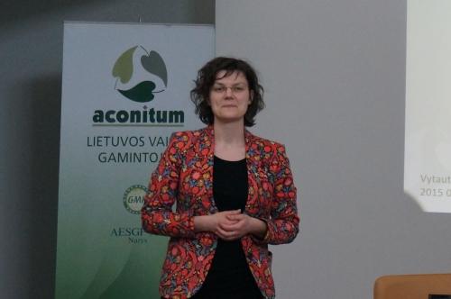 Eksportuotojų viešnagė įmonėje ACONITUM