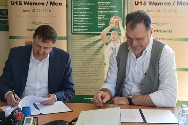 """""""Enerstenos"""" įmonių grupė remia Lietuvos krepšinio ateitį"""
