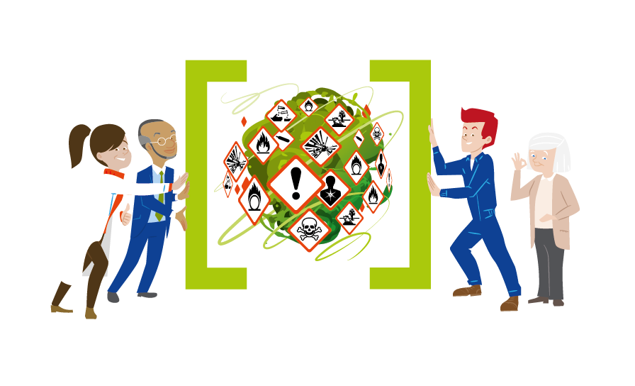 """Europos 2018 – 2019 m. saugių darbo vietų kampanijos """"Pavojingų medžiagų efektyvus valdymas"""" atidarymo konferencija"""