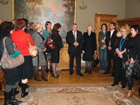 Finansininkai susitiko Pinigų muziejuje