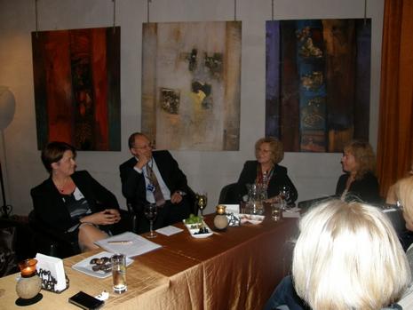 Finansininkų klubas diskutavo apie naują veiklą