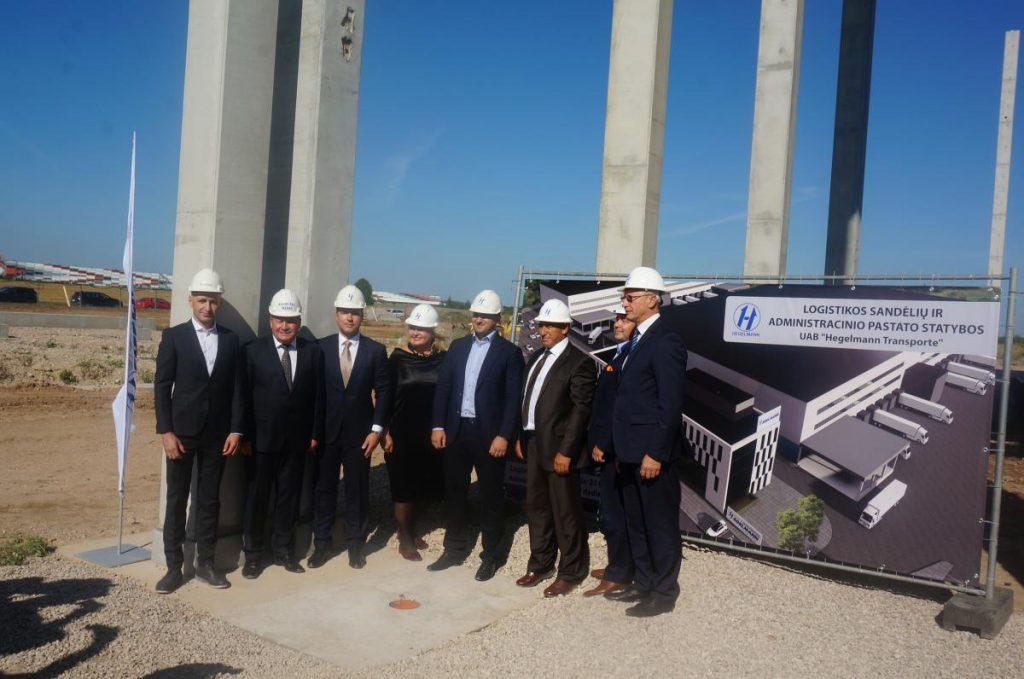 """""""Hegelmann Transporte"""" į logistikos centrą investuoja 20 mln. eurų"""