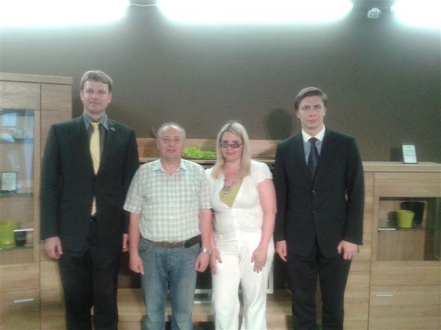 Jonavos atstovybėje  lankėsi Čekijos-Baltijos prekybos rūmų vadovas