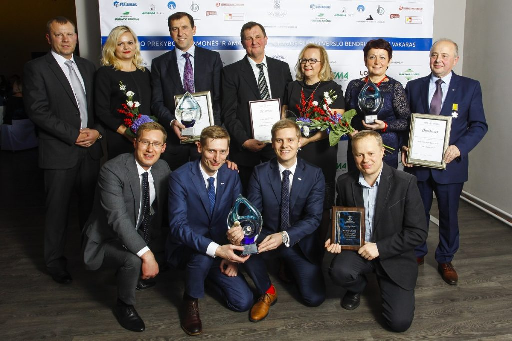 Jonavos verslininkų padėkos vakare – apdovanojimai ir smagi nuotaika