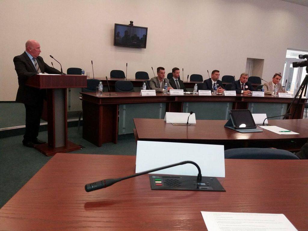 Kandidatų į Seimą debatai Jonavoje