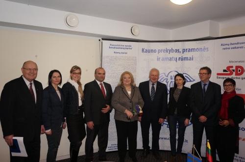 Kauno PPAR verslo pusryčiai su Prancūzijos ambasadore