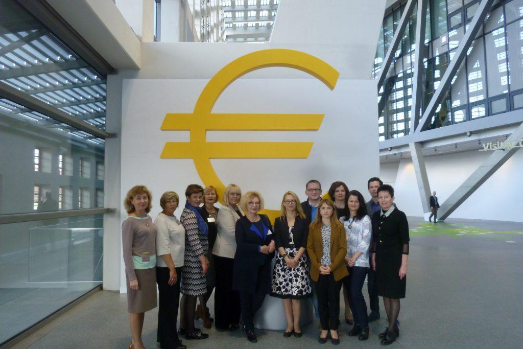 Kauno finansininkų klubo nariai lankėsi Frankfurte
