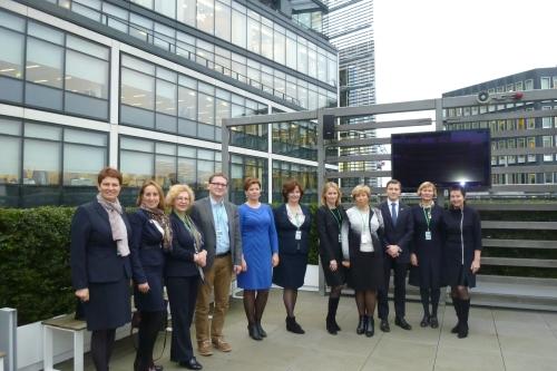 Kauno finansininkų klubo nariai sėmėsi patirties Londono Sityje