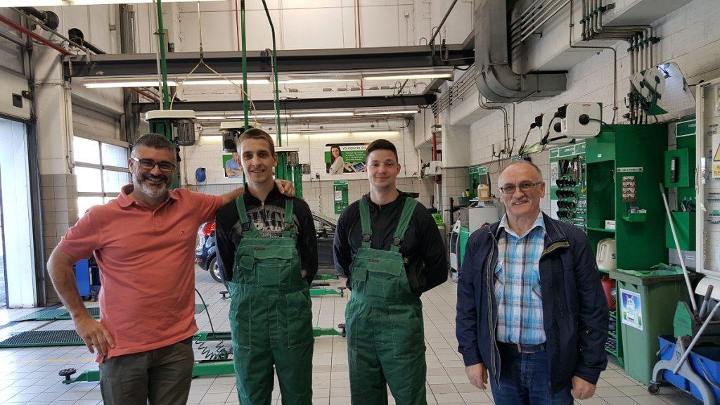 Kauno statybininkų rengimo centras įgyvendino mokiniams naudingą projektą