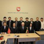 Kinijos Heilogjiang provincijos delegacijos vizitas