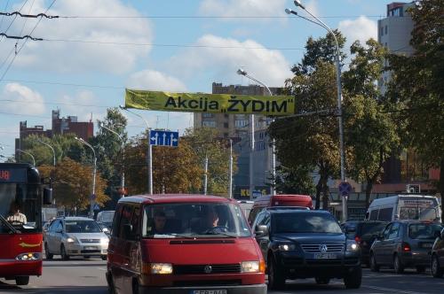 """Klubas """"Verslas Kaunui""""  kviečia prisijungti prie iniciatyvos """"ŽYDIM"""""""