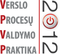 "Konferencija: ""Verslo procesų valdymo praktika 2012"""