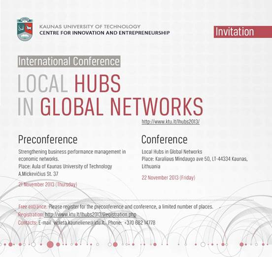 Local Hubs in Global Networks