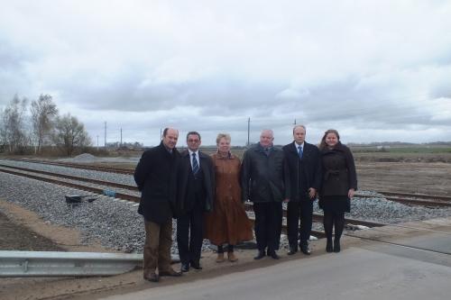 Marijampolę ambasadorius laiko svarbiu miestu jo šaliai Estijai
