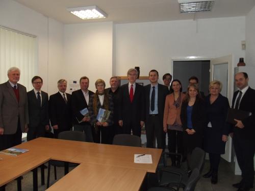 Marijampolėje lankėsi Nyderlandų Karalystės ambasadorius