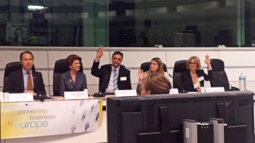 Marijampolės profesinio rengimo centro atstovai - Eurochambres konferencijoje Briuselyje
