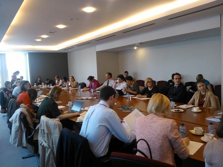 Marijampolės profesinio rengimo centro atstovė dalyvavo EP debatuose apie profesinį rengimą