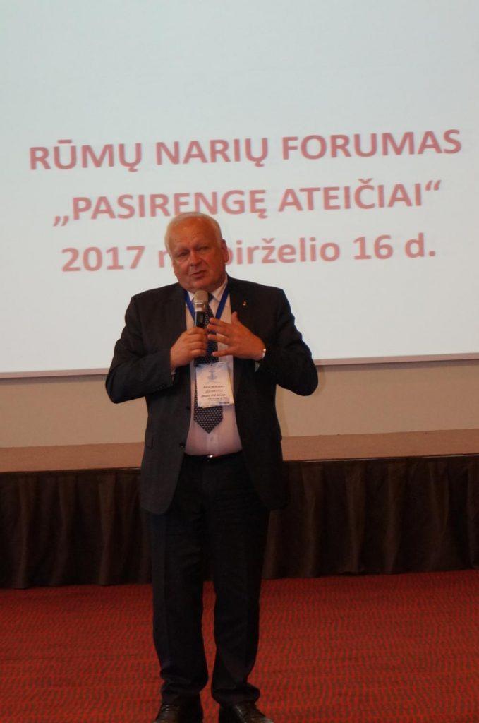 Narių forume –  rūmų ateities perspektyvos