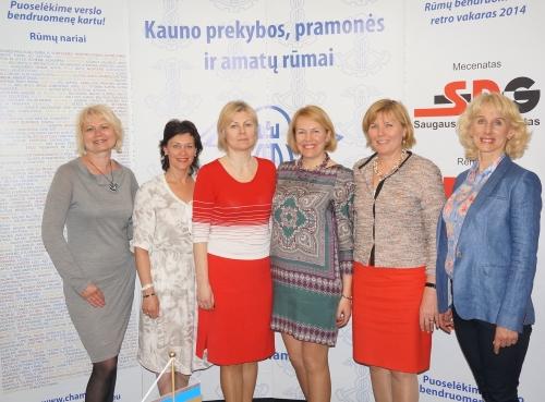 Nauja Kauno verslo moterų tinklo vadovė – Saulė Motiejūnienė