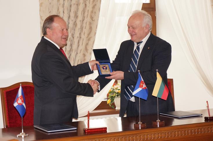 Pasirašyta rūmų ir Kauno rajono savivaldybės sutartis