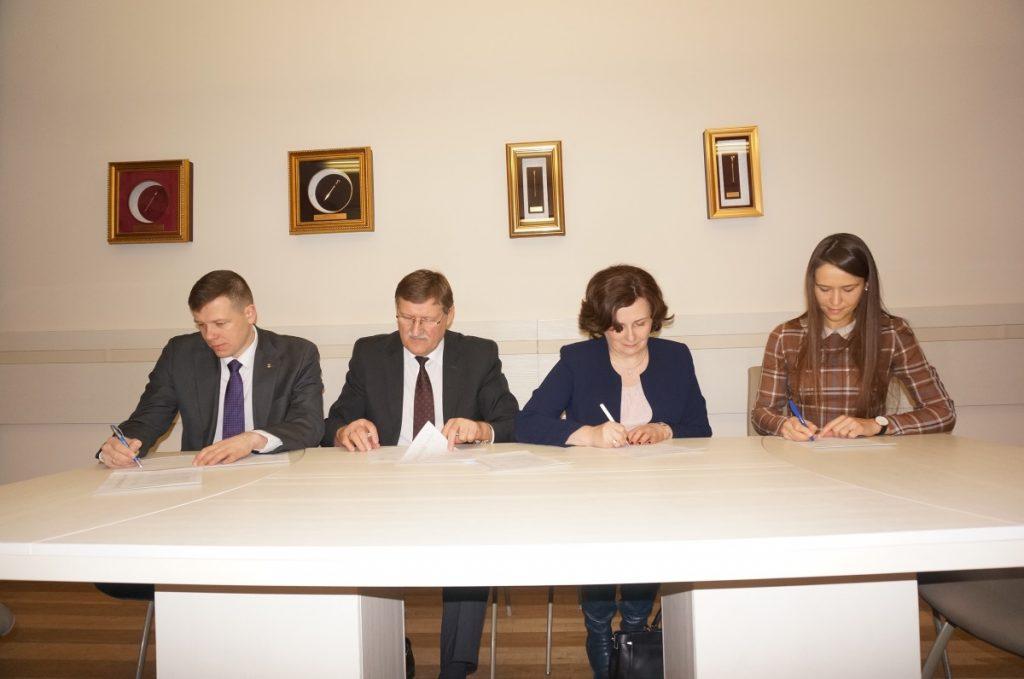 Pasirašytas bendradarbiavimo su Kauno rajono savivaldybe bei Aleksandro Stulginskio universitetu veiklos planas