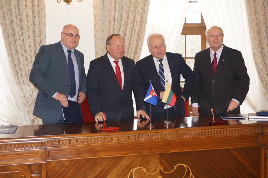 Pasirašytas bendradarbiavimo su Kauno rajono savivaldybe veiklos planas