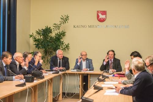Pirmasis naujos sudėties Verslo tarybos posėdis