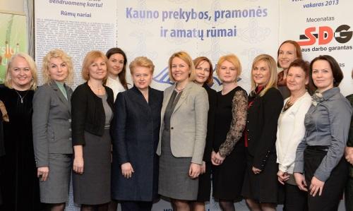 Prezidentė Dalia Grybauskaitė viešėjo Kauno PPA rūmuose