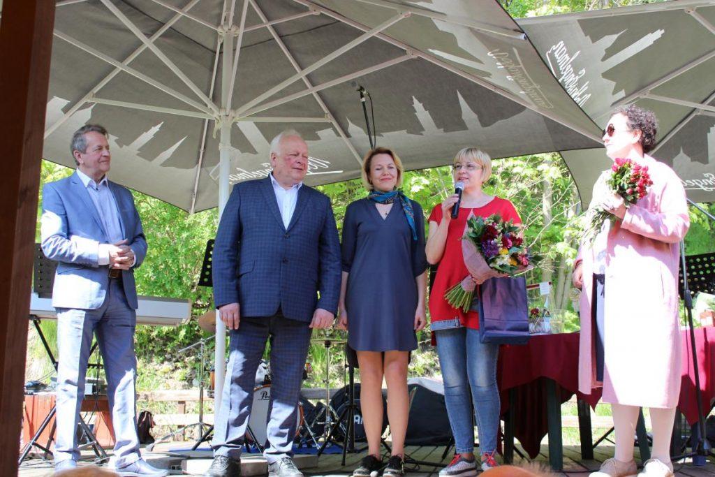 Rūmų premija įteikta žurnalistei Vilmai Kasperavičienei