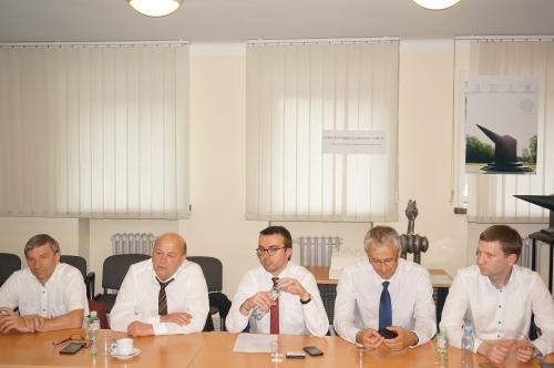 Rūmų tarybos nariai susitiko su miesto vadovais