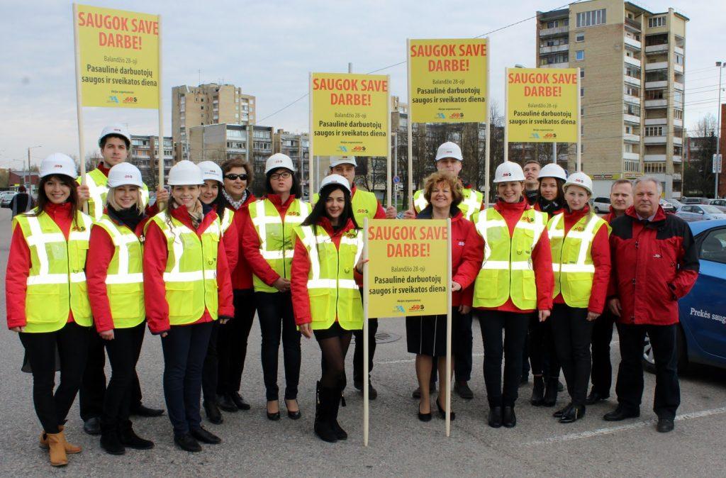 """""""SDG"""" įmonių grupės renginiai darbuotojų saugos ir sveikatos dienos proga"""
