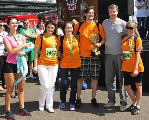 SDG laimėjo Mero taurę Kauno maratone 2013