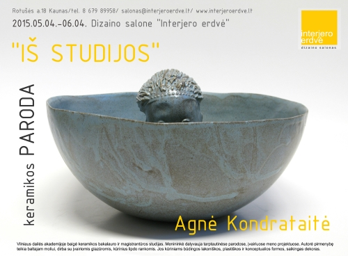 "Salone ""Interjero erdvė"" - keramikos paroda"