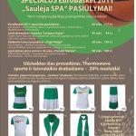 """Specialūs Eurobasket 2011 """"Saulėja SPA"""" pasiūlymai!"""