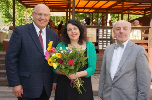 """Šiemetinė rūmų premija – """"Verslo žinių"""" korespondentei Indrei Sesartei"""