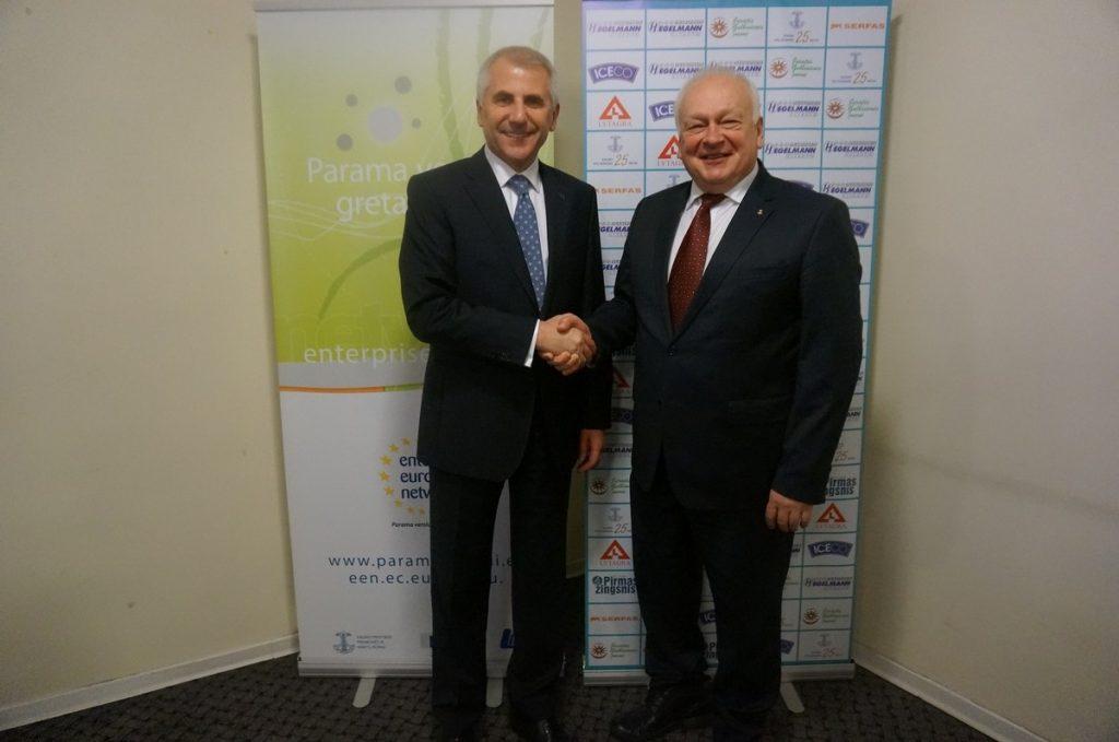 Susitikimas su ES ambasadoriumi Rusijos Federacijoje Vygaudu Ušacku