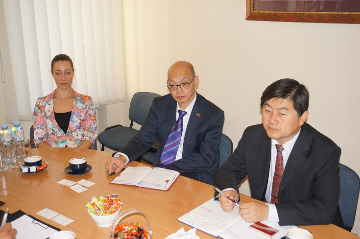 Susitikimas su Kinijos atstovais