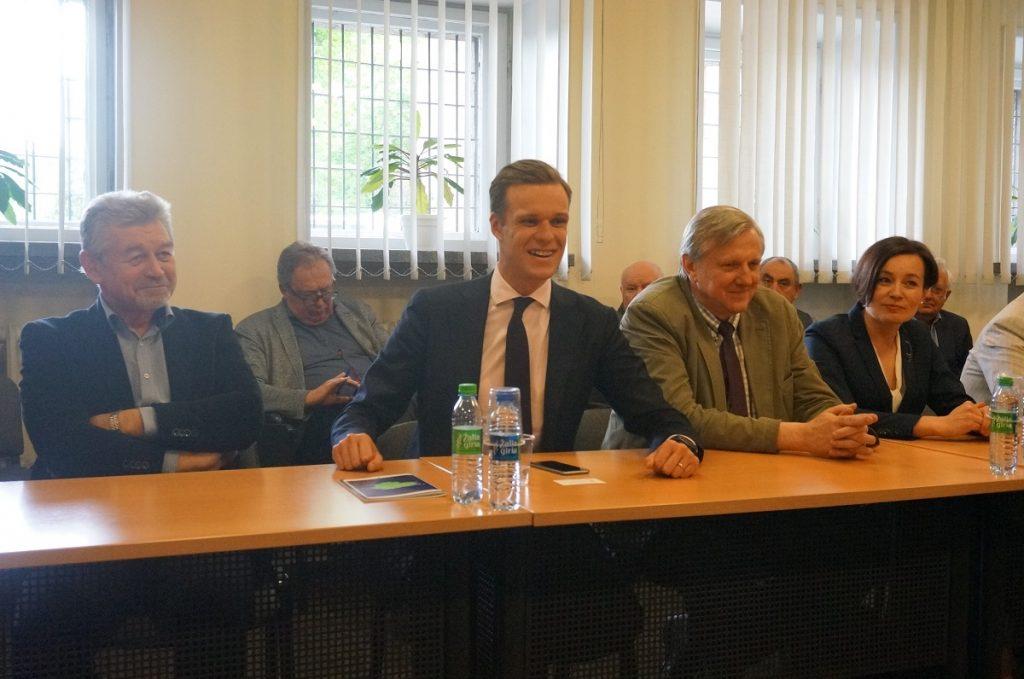 Susitikimas su TS-LKD partijos pirmininku G. Landsbergiu ir Seimo rinkimuose dalyvaujančiais kandidatais