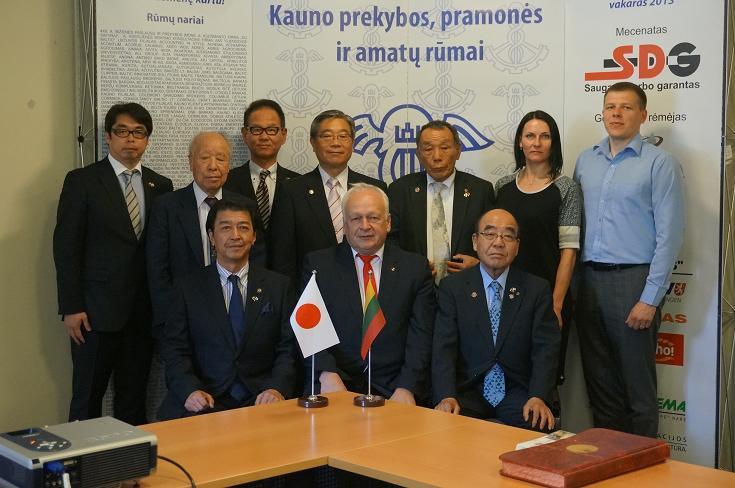 Svečiai iš Japonijos